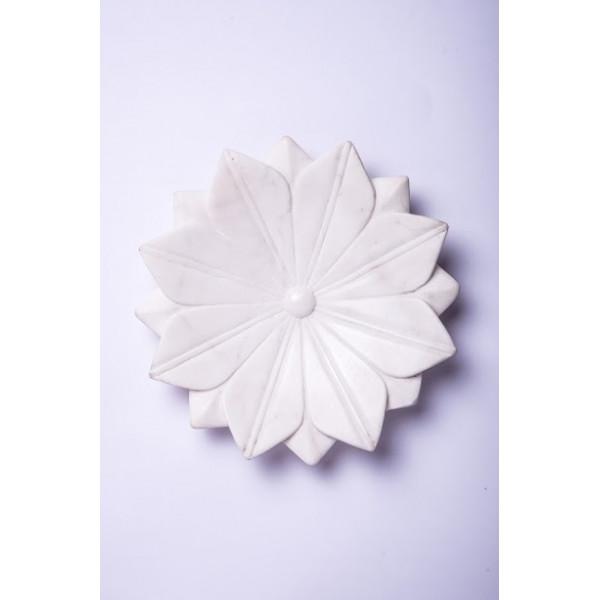 Marble Floral Platter