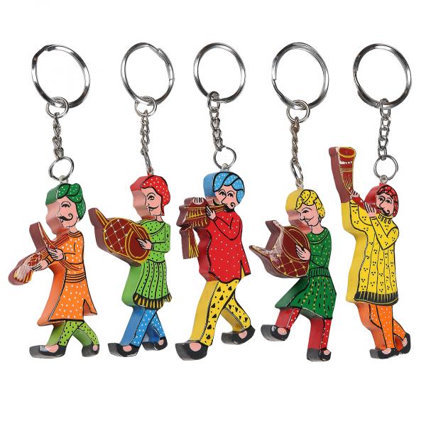 Mucchad Key Rings Set of 5