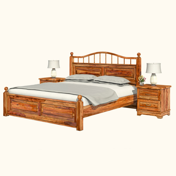 Sheesham Wood King Size double bed