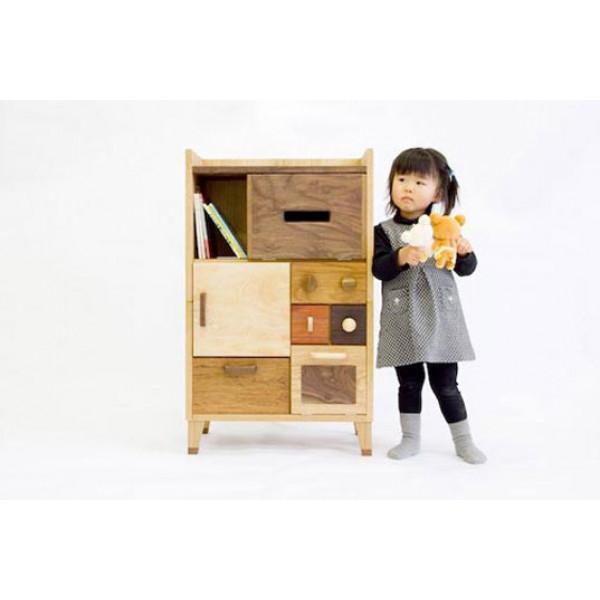 Rajshree Wooden Kids Storage
