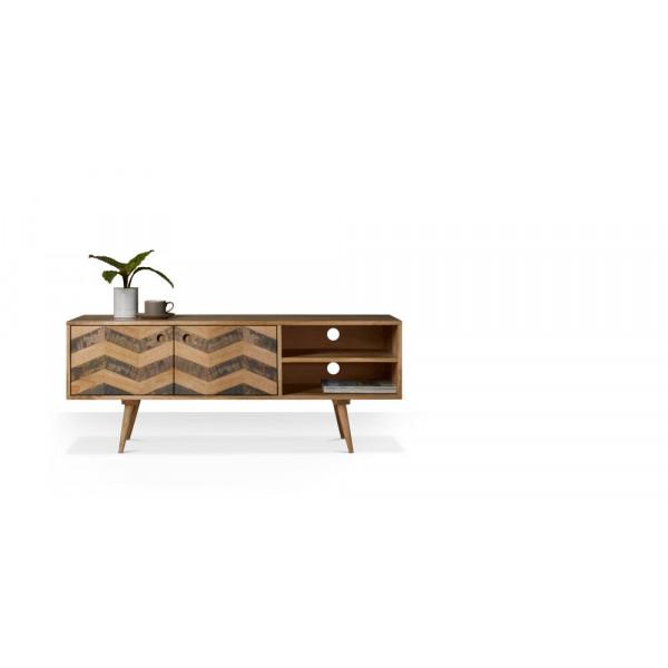 Rajshree Wooden Low Side Board