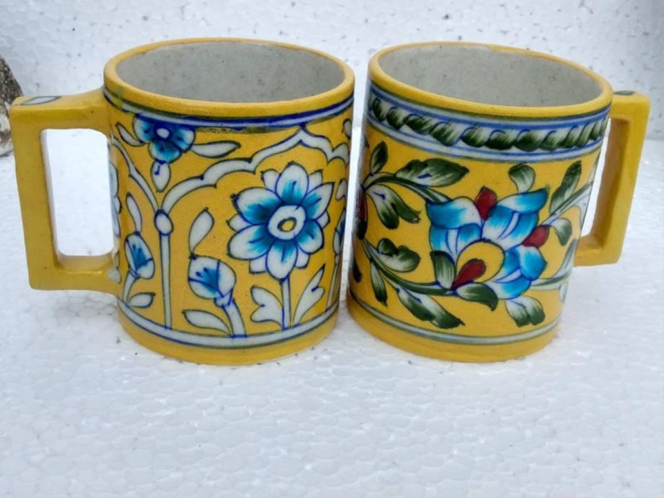 Blue Pottery Ceramic mug