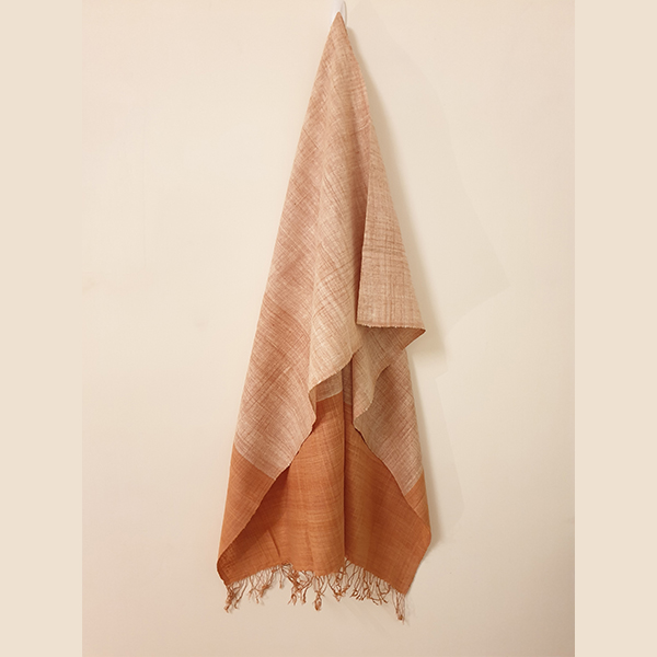 Handcrafted Eri Silk Stole