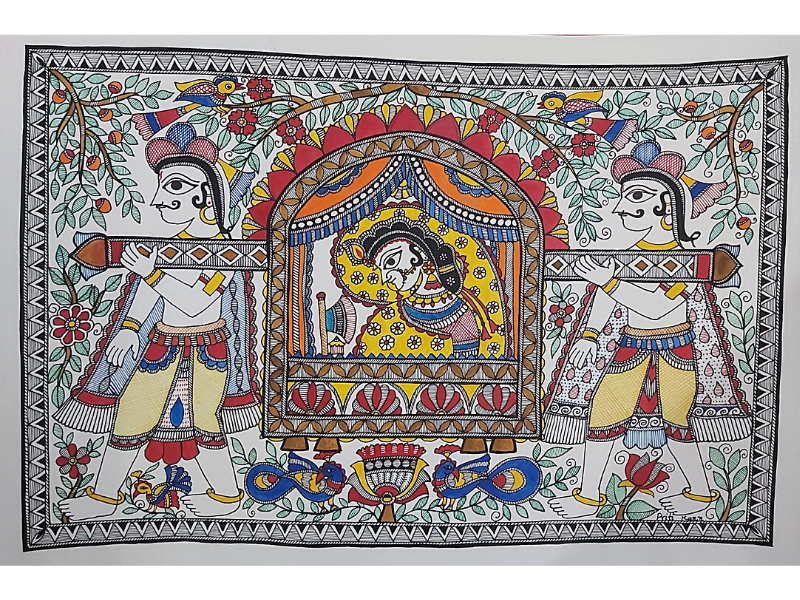 Doli Kahar Madhubani Painting