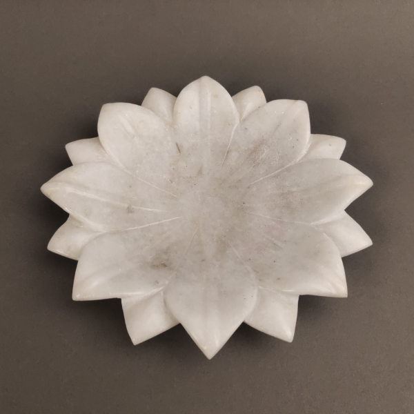 Decorative marble platter
