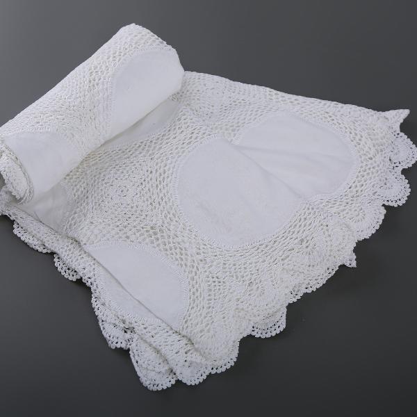 Handmade crochet bed covers