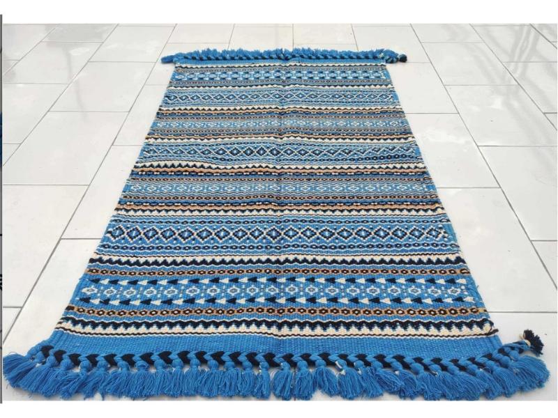 Handwoven Punja Dhurrie  (2x3ft)