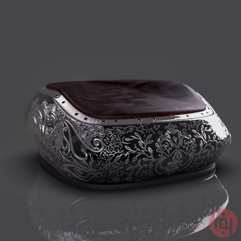 Nazaqat - jewelry box