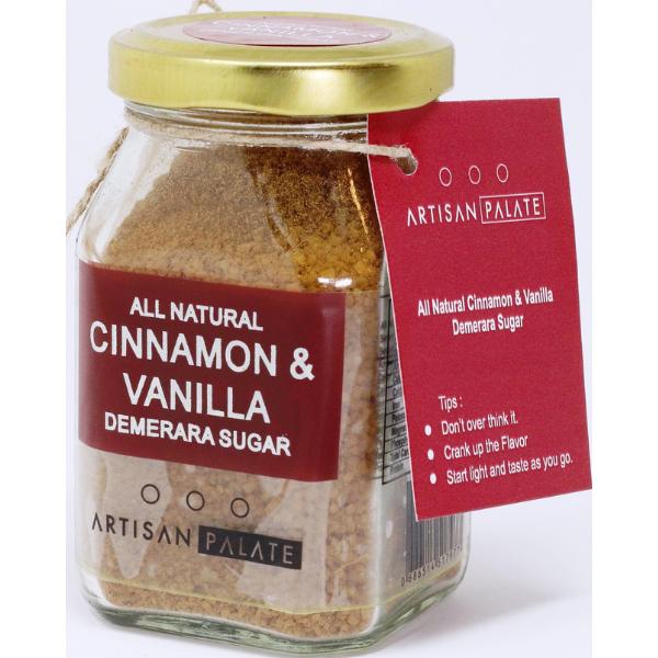 All Natural Cinnamon & Vanilla Demerara Sugar