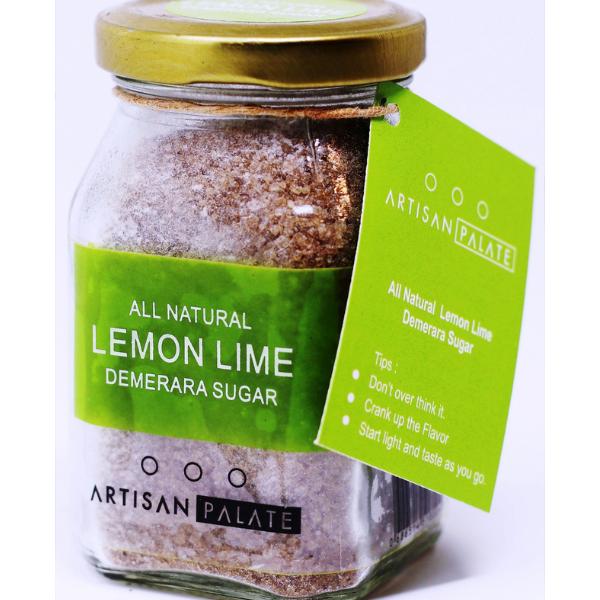 All Natural Lemon Lime Demerara Sugar