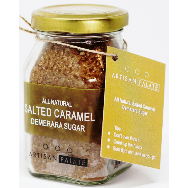 All Natural Salted Caramel Demerara Sugar