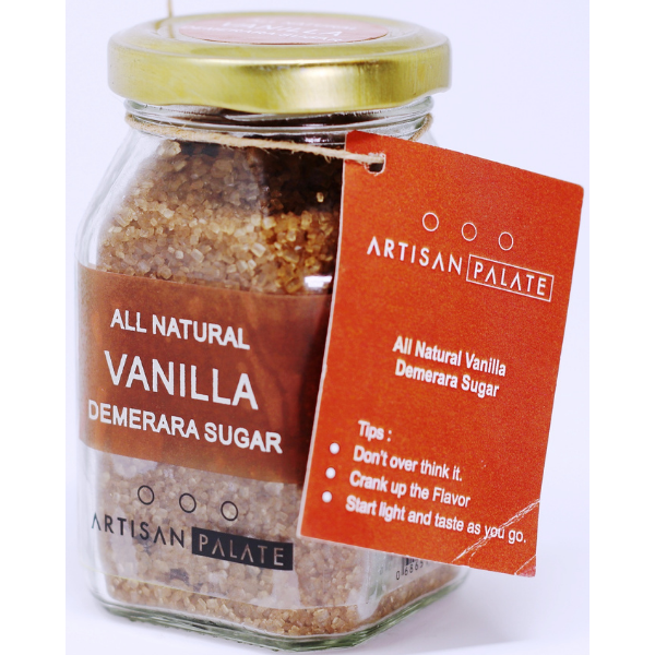 All Natural Vanilla Demerara Sugar