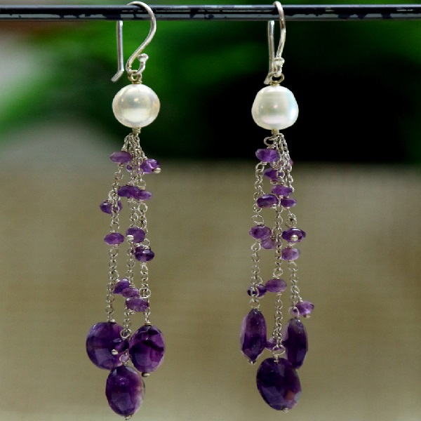 Amethyst Delight Danglers