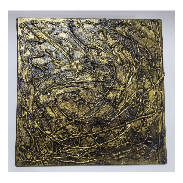 Antique abstract painting