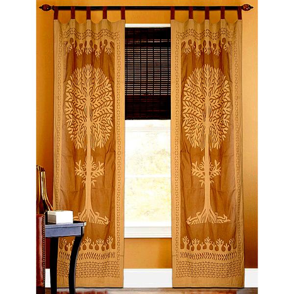 Applique Curtain
