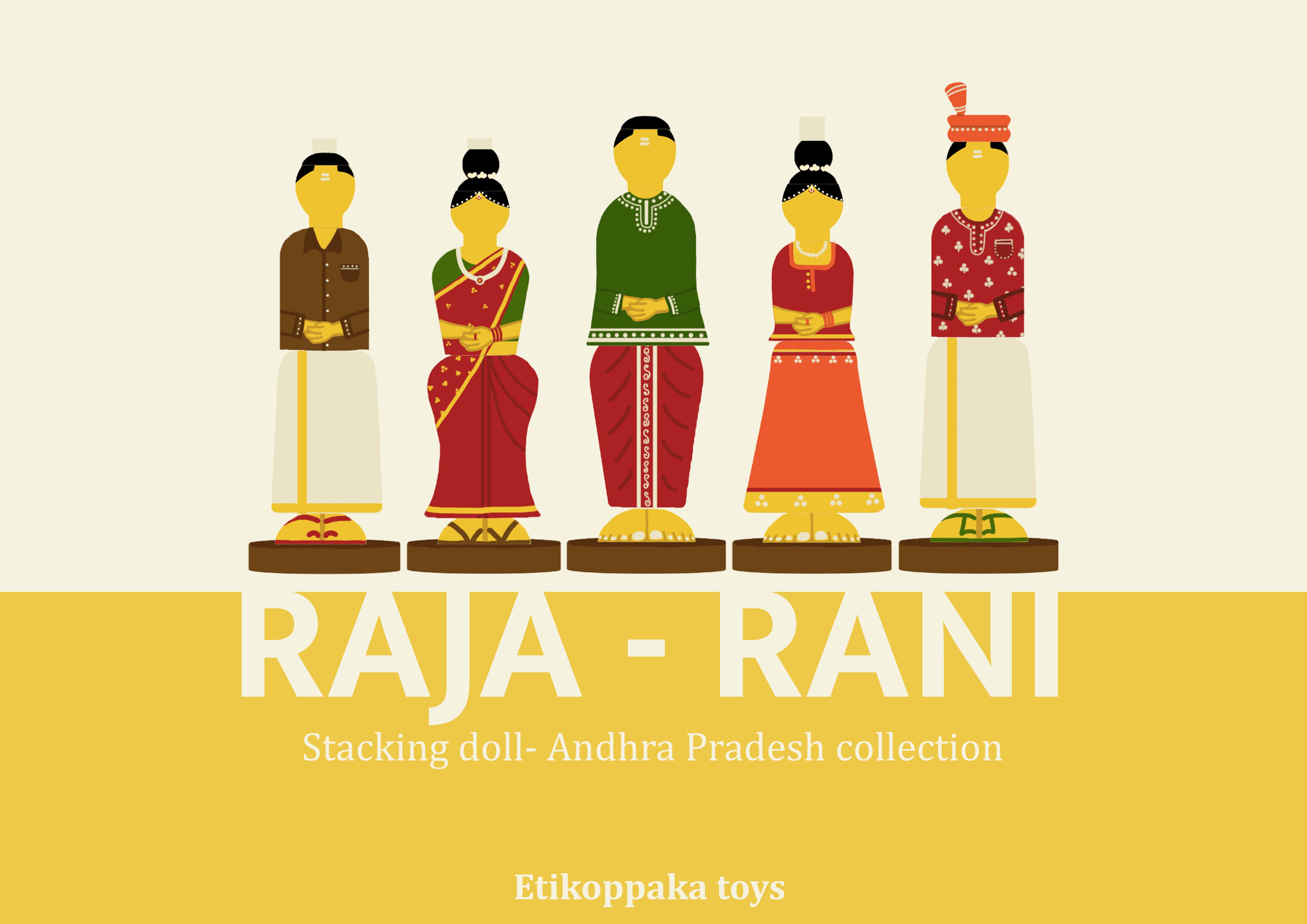Raja- Rani, Ettikopaka toys second round updated work
