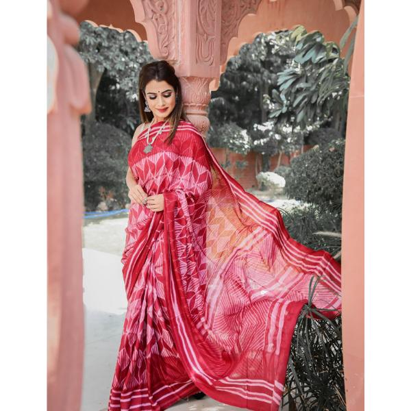 Authentic Gajji Silk Saree