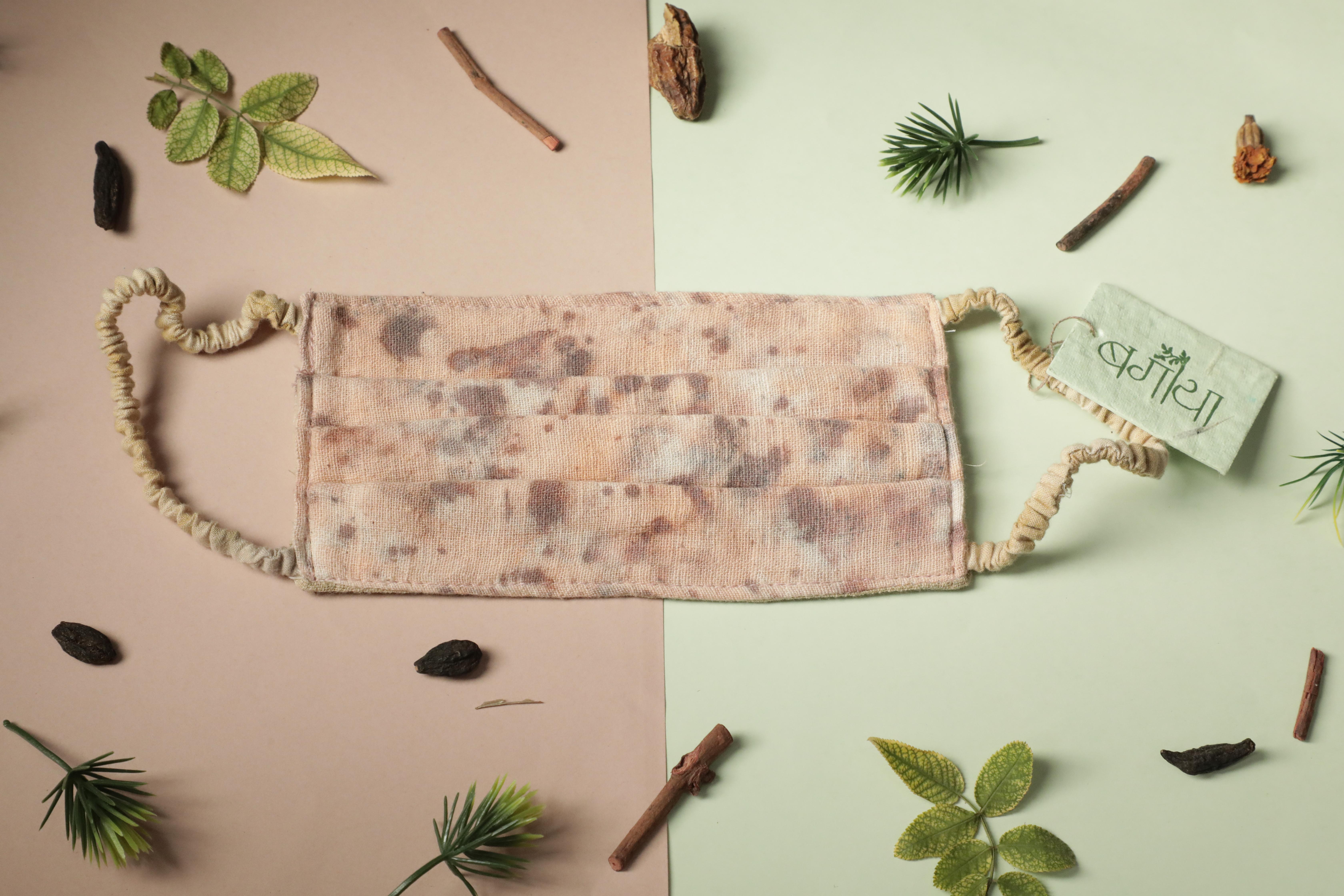 Ayur Herb Upcycled Kala Cotton Face-masks