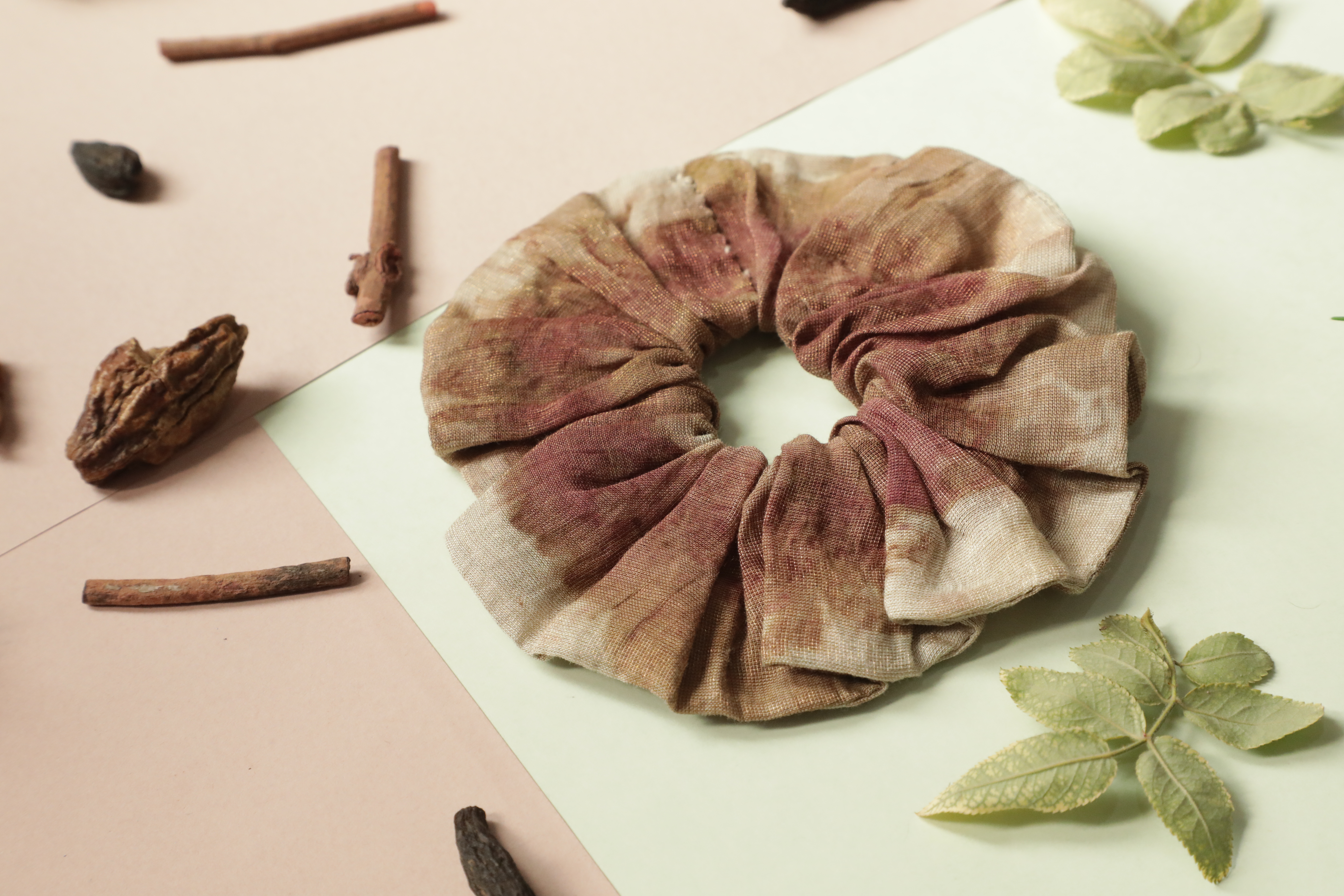 Ayur Herb Upcycled Scrunchies