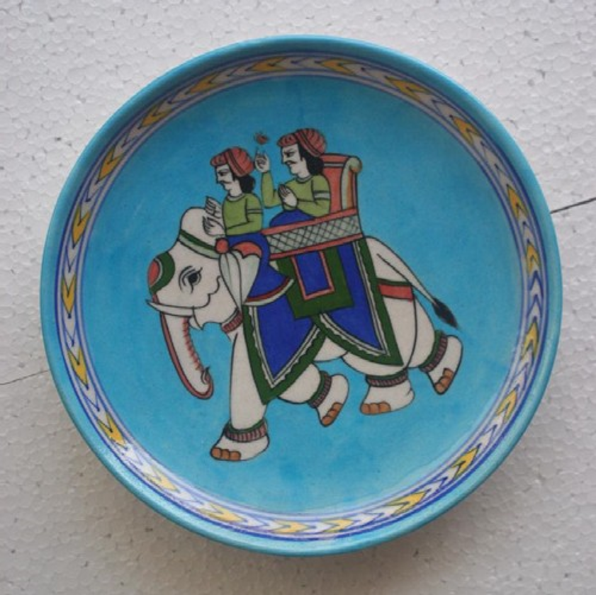 Blue Pottery Decorative Platters