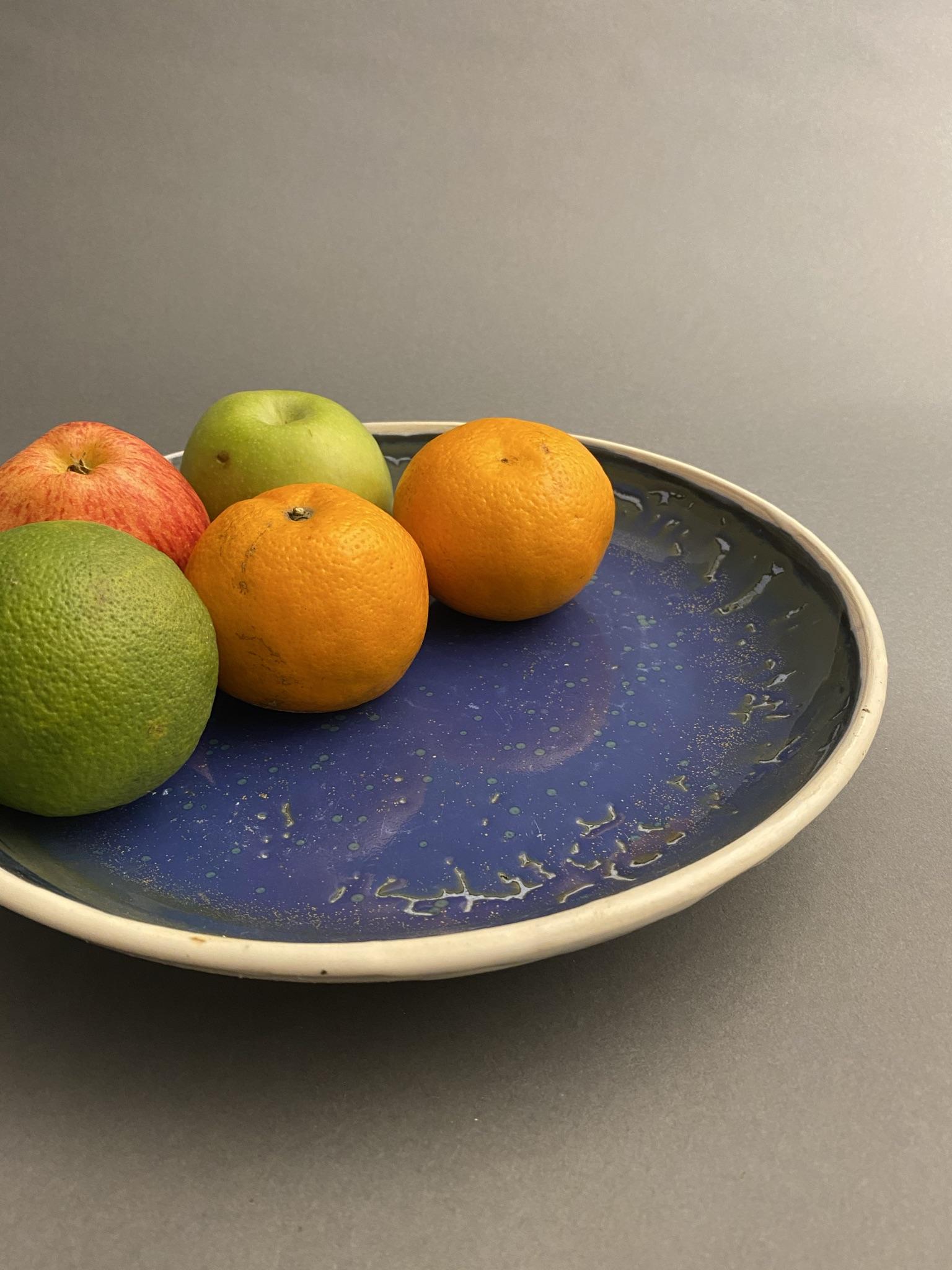 Blue Serving Platter