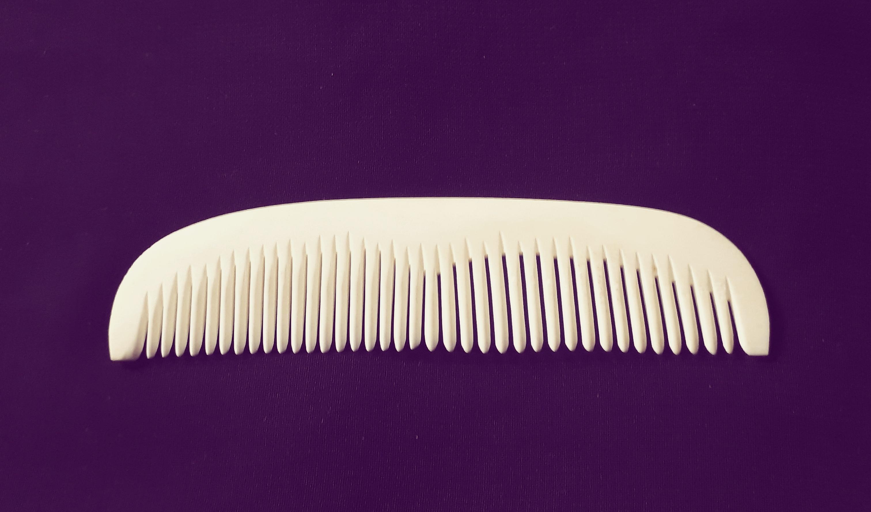 Bone viking comb