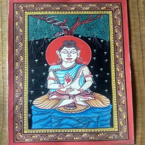 Buddha Pattachitra Painting