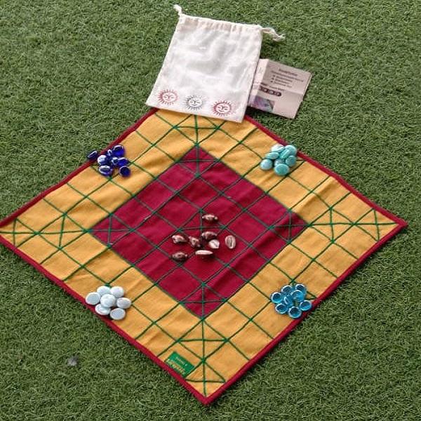 Chowkabara 9x9 Handmade Fabric