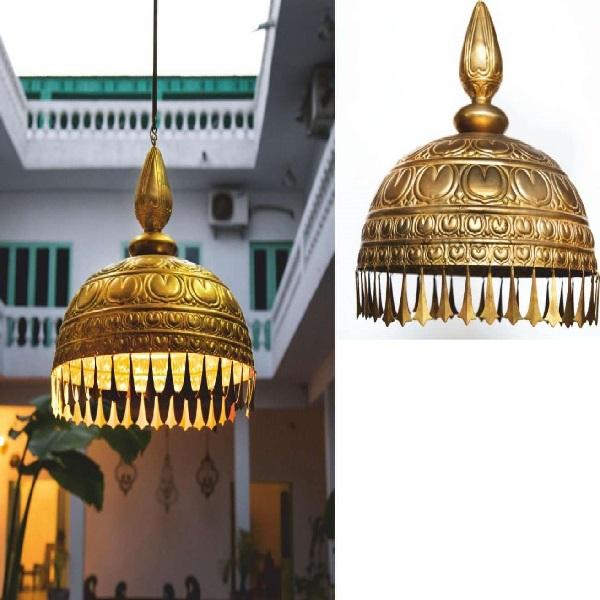 Classical Lotus Chatri Light