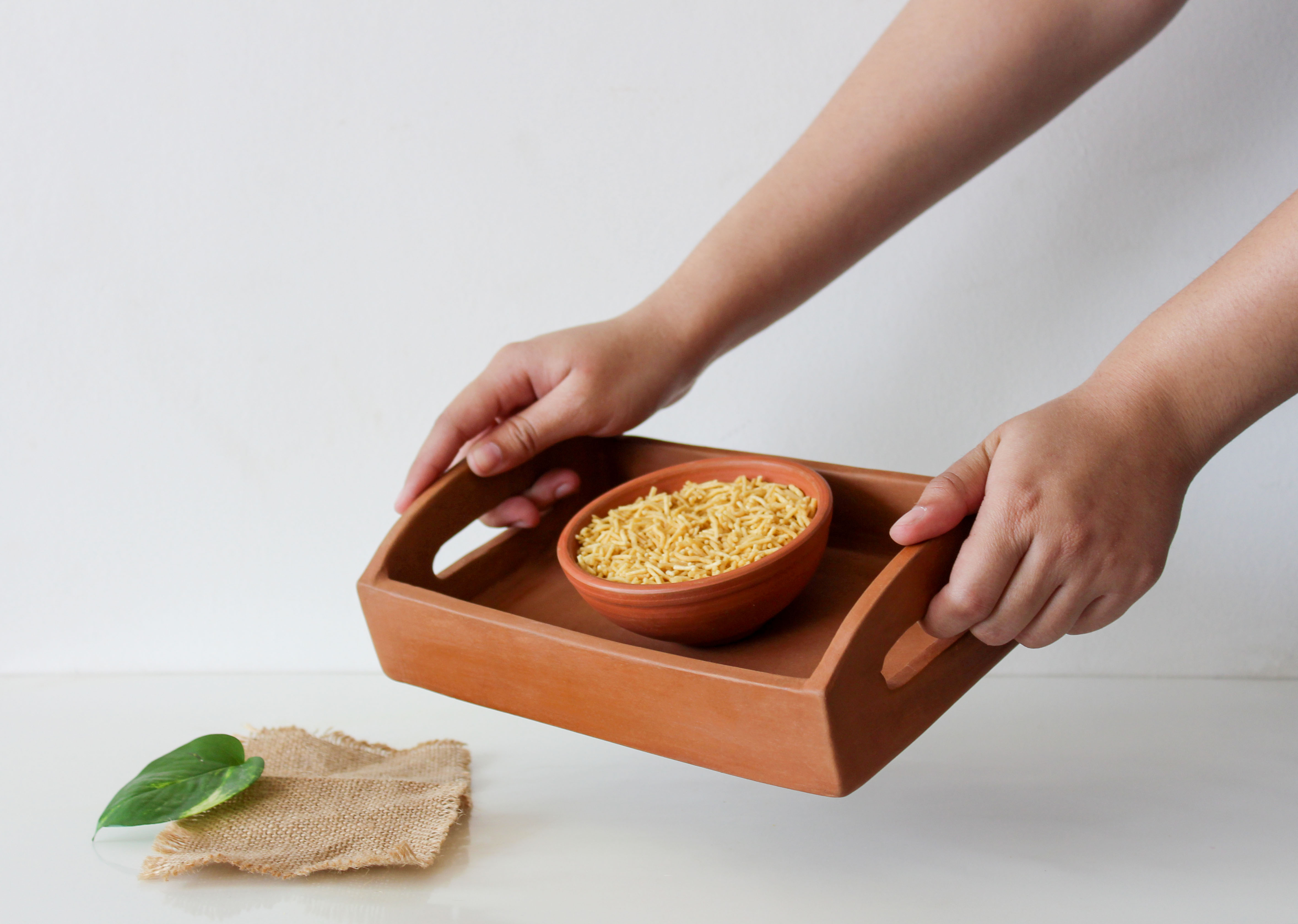 Clay Serving Tray