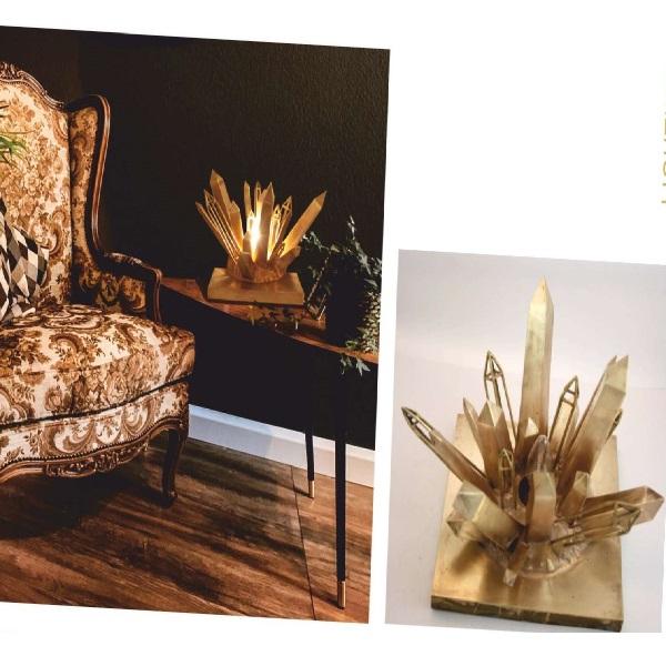 Crystalline Table Lamp