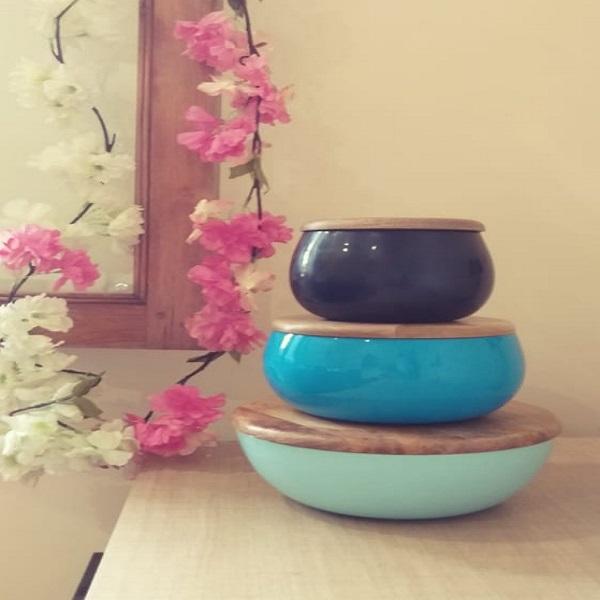Flower Bowl Set (Set of 3)