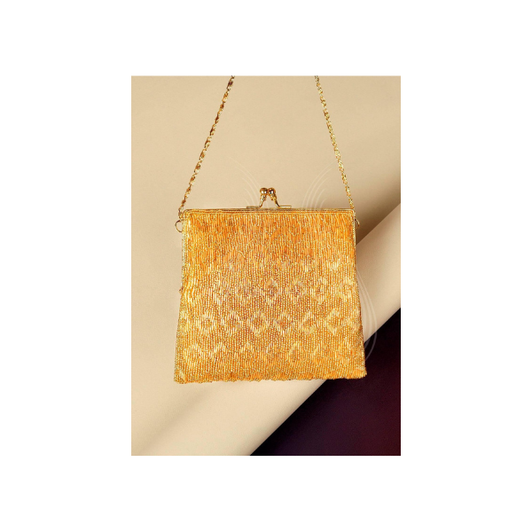GOLD GLITTERATI BAG (B4)