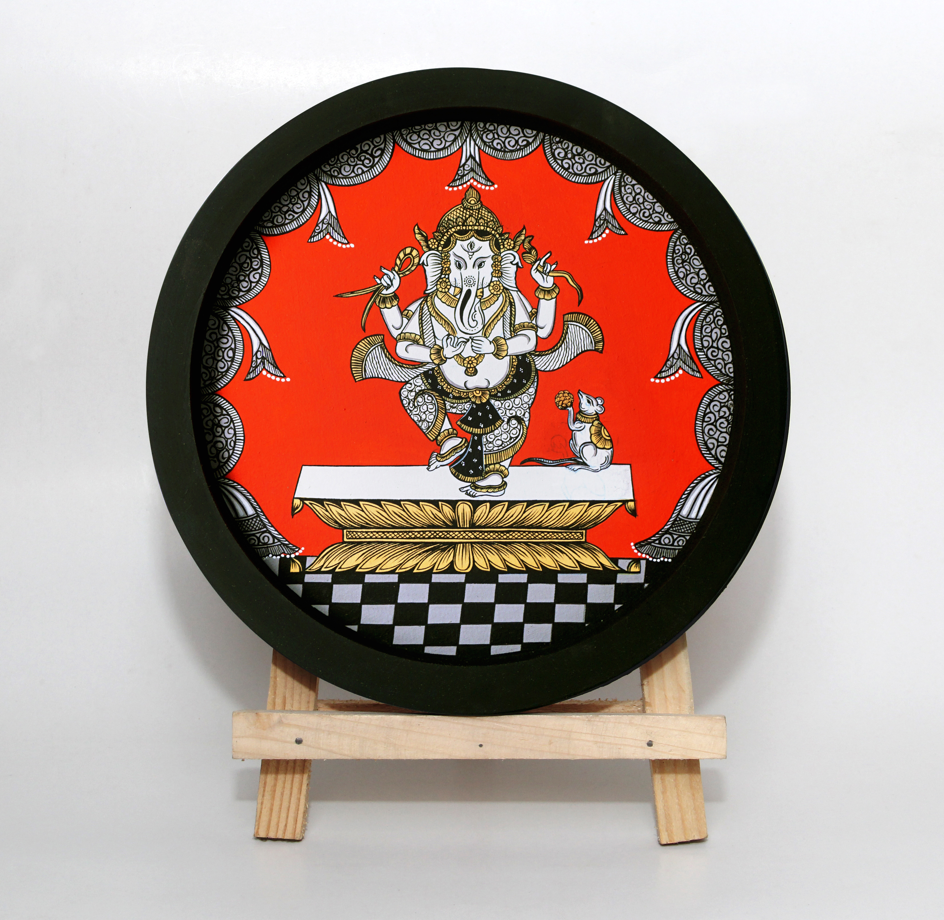 Ganesha 1 - Pattachitra Painting