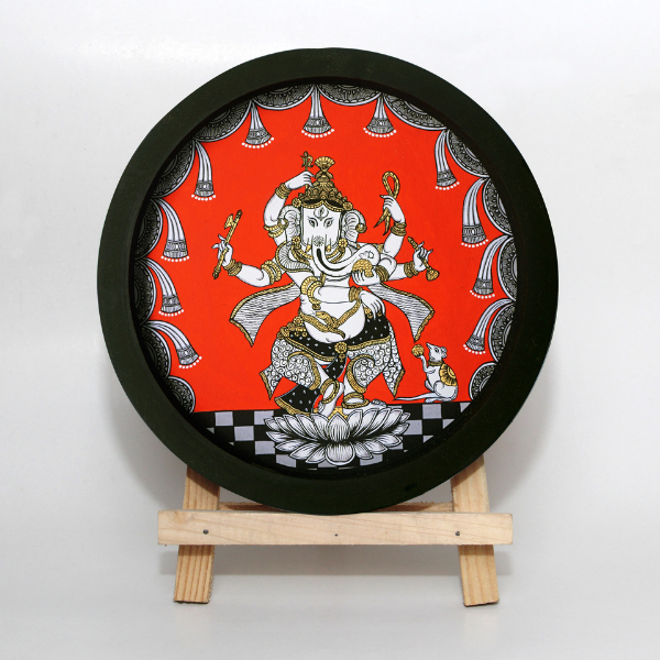 Ganesha 3 - Pattachitra Painting