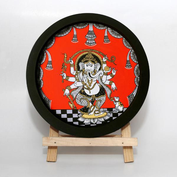 Ganesha 4 - Pattachitra Painting