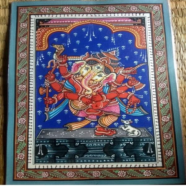 Ganesha Pattachitra Painting