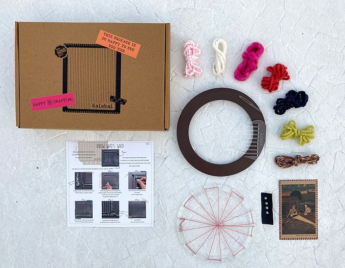 Gulabi weaving DIY kit | Circular