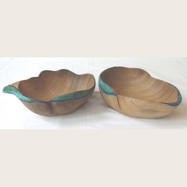 Gummer wood large salad bowl