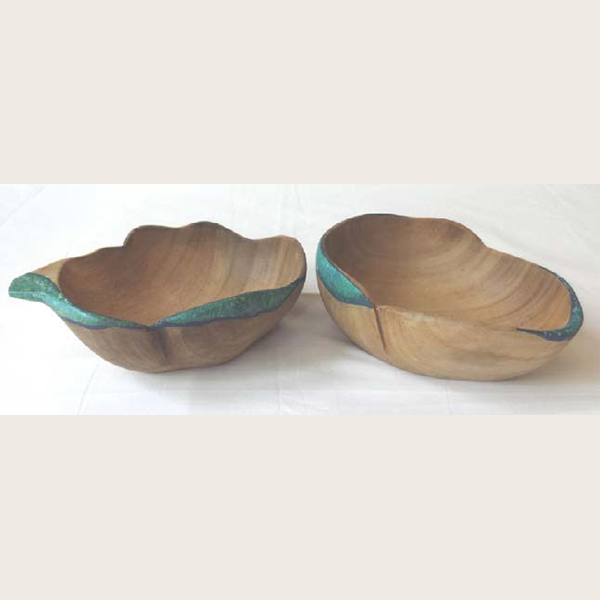 Gummer wood small salad bowl