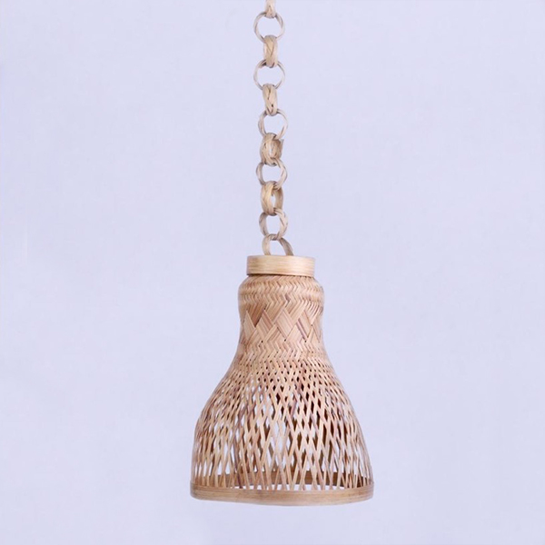 Handcrafted Bamboo Hanging Lamp