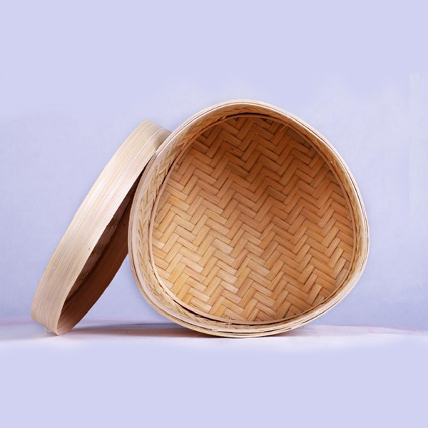 Handcrafted Bamboo Multipurpose Triangular container