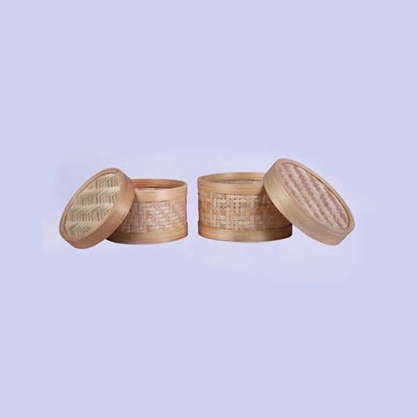 Handcrafted Bamboo Multipurpose circular container