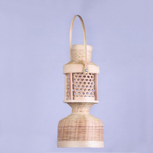 Handcrafted Bamboo Table Lamp