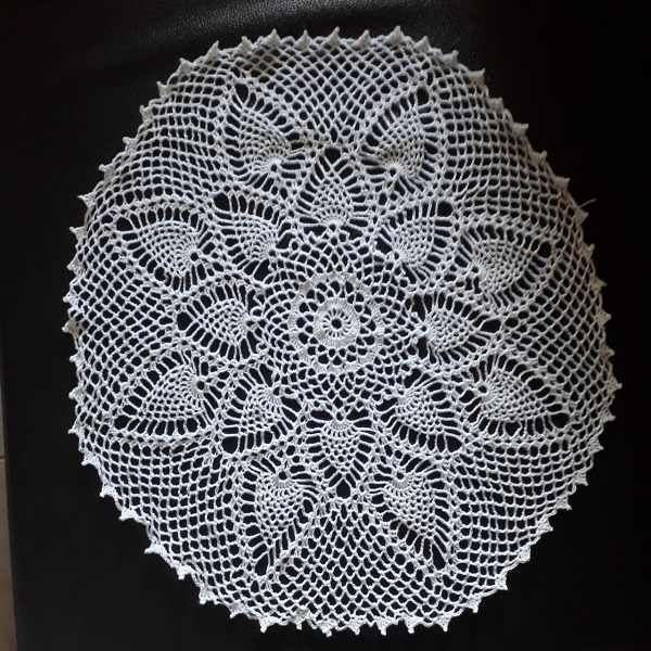 Handmade Cotton Thread Doily