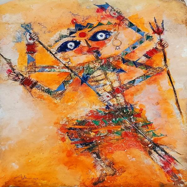 Handmade Kali Painting