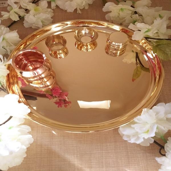 Handmade Pooja Thali Khom