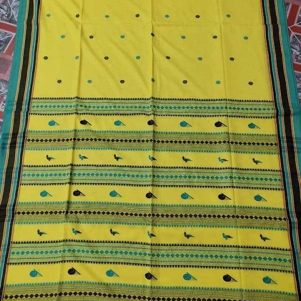 Handmade Tribal Khadi saree