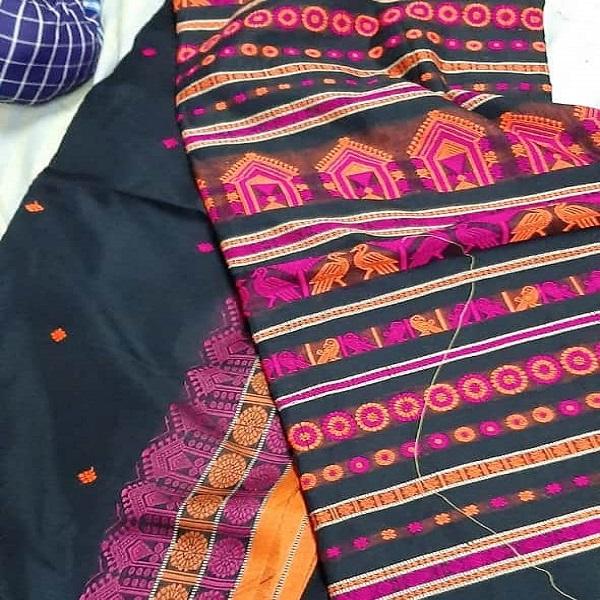 Handmade Tribal saree
