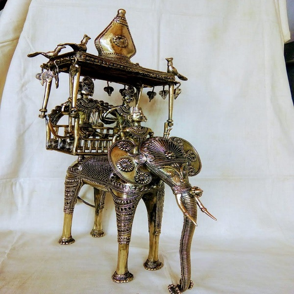 Handmade metal Chariot